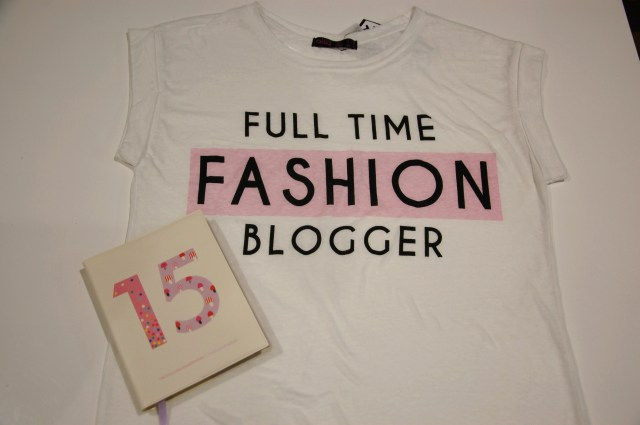 full time fashion blogger tshirt