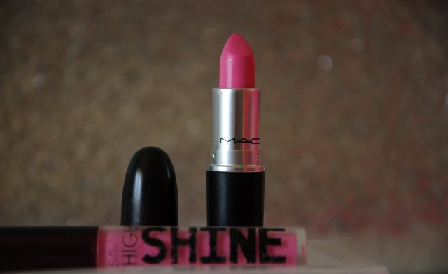 MAC Saint Germaine lipstick and Savvy High Shine lipgloss | Extraordinary Days