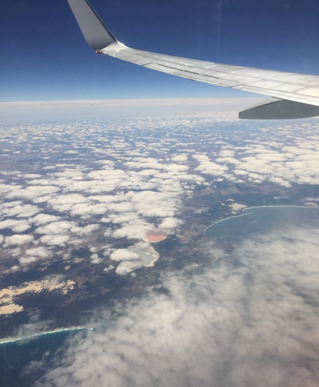 Plane views over the clouds | Extraordinary Days