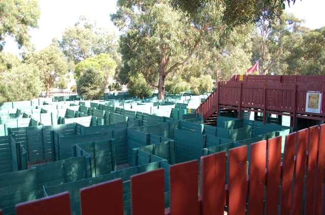 This only shows a small section of the maze!