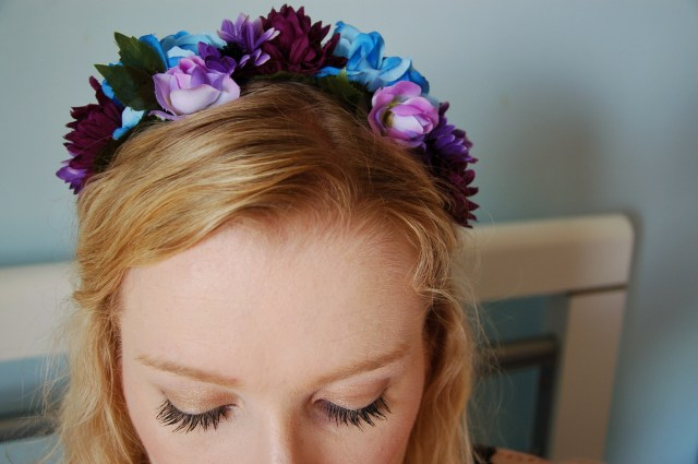 Flower crown headband