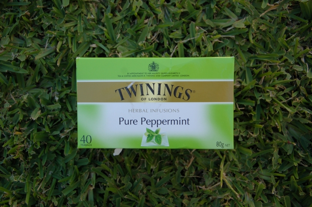 Twinings peppermint tea | Extraordinary Days blog