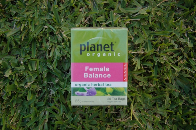 Planet Organic Female Balance Tea | Extraordinary Days blog