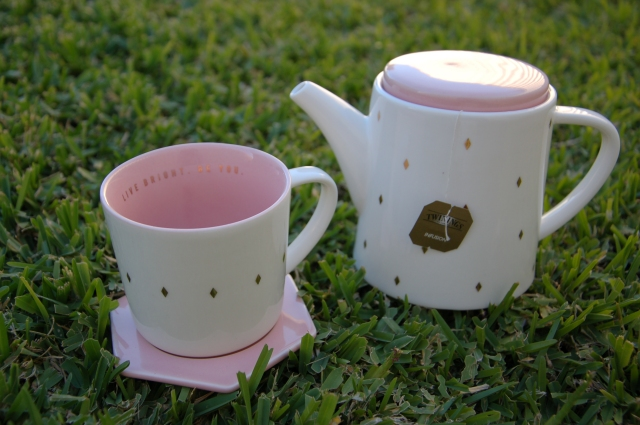 Kikki K teapot and cup set | Extraordinary Days blog